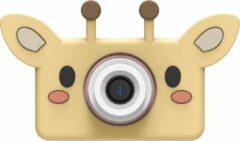 Gele The Zoo Family Giraffe 24MP digitale kindercamera + Selfie Video