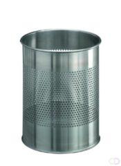 Durable Waste basketstainless steel round 15/ P