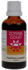 Zonnegoud Passiflora complex tinctuur 50 ml