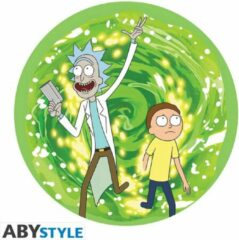 Groene ABYSTYLE Rick And Morty - Flexible Mouse Pad - Portal
