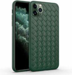 Able & Borret Smartphone hoesje | Telefoon hoesje | Anti shock | Geweven | Groen | iPhone 11 Pro
