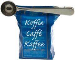 Roestvrijstalen Massamarkt Koffiedoseerder Met Zakknijper