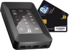 Digittrade DG-HS256S-250SSD HS256S High Security Externe SSD harde schijf 250 GB Zwart USB 2.0, FireWire 800