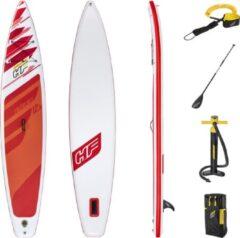 Rode Bestway Sup Board - Hydro Force - Fastblast Tech Set - 381 x 76 x 15 cm - Met Accessoires