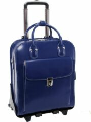 Marineblauwe McKlein Laptop Trolley - Navy - 15.4'' - LA GRANGE