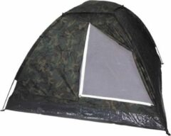 Mfh Tent Personen Woodland 210X210X130 Cm - Groen/ Army - 3 Persoons