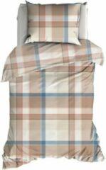 Huidskleurige Romanette Kulm - Dekbedovertrek - Eenpersoons - 140x200/220 cm + 1 kussensloop 60x70 cm - Nuderose