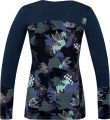Rafiki T-shirt Sephira Dames Viscose Donkerblauw Maat 38