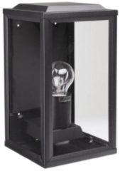 Zwarte KS Verlichting K.S. Verlichting 'T Gooi Wandlamp 28 x 12 cm - Zwart
