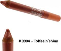 Paarse Biguine Make Up Paris Trendy Gloss - Lip Gloss lippenstift kleur - 2,32g - 9904 Toffee n´shiny