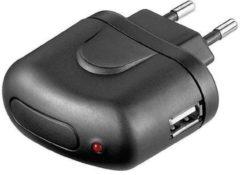HQ P.SUP.USB401 oplader voor mobiele apparatuur Binnen Zwart