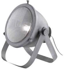 Rode BRILLIANT lamp Bo tafellamp glas grijs beton | 1x A60, E27, 60W, geschikt voor standaardlampen (niet inbegrepen) | Schaal A ++ tot E | Met snoerschakelaar