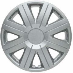 Zilveren Wieldoppen set - 16 inch - Cosmos (4 stuks)