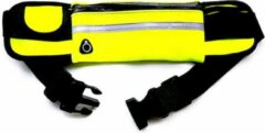 Now4you Running belt - Hardloop belt - Hardloop riem - Geel