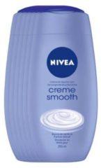 NIVEA Crème Smooth Douchecrème - 6 x 250 ml - Voordeelverpakking