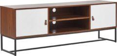 Bruine Beliani Nueva Tv-meubel Mdf 40 X 150 Cm