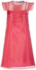 Extravagantes Kleid BASILIA in edel changierender Optik Nicowa CORAL