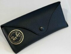 Ray-Ban zonnebrillen etui Zwart slank voor de platte modellen zoals rb3025 rb3026 rb3447 rb3030