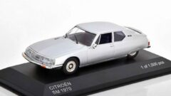 White box Citroen SM 1970 Zilver 1-43 Whitebox Limited 1000 Pieces