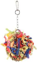 Flamingo Knaagdierspeelgoed Bal Papier - Speelgoed - 10x10x22 cm Multi-Color