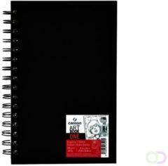 Witte Canson KANSON schetsboek ARTBOOK UNIVERSAL, 102 x 152 mm, zwart