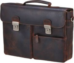 Koffer-direkt.de Prato Hunter Elba Aktentasche mit Laptopfach 41 cm