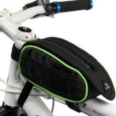 Filmer Fahrrad Tasche Rahmentasche mit Regencape