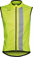 Wowow Maverick Fietsshirt - Maat XL - Unisex - geel/zwart/zilver