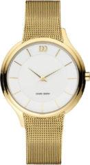 Danish Design IV05Q1194 horloge dames - goud - edelstaal doubl�