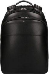Zwarte Montblanc Sartorial Backpack Small black Herentas