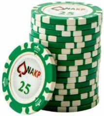 Blauwe ONK Poker Chips 25 (25 stuks)