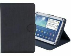 RivaCase 3317 - Universele Tablet case - 10.1 Inch (Acer Iconia Tab A3-A30 / Apple iPad Air 2 / Asus ZenPad 10 Z300C / Lenovo TAB 2 A10-70L / Samsung Galaxy Tab S2 / Sony Xperia Z4 Tablet) - Zwart