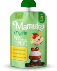 Mamuko biologische rijstepap met vruchten 4+ mnd