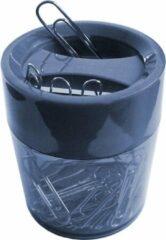 SDI - Paperclip dispensers - 60 Øx70mm - Inclusief 100 paperclips! - Groen - 1 stuk