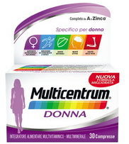 Multicentrum Donna Integratore Multivitaminico Multiminerale 30 Compresse
