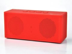 Bordeauxrode Pure Acoustics HIPBOXMINIBOR Portable bluetooth speaker met radio