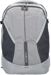 4Mation Rucksack 45,5 cm Laptopfach Samsonite silver-red