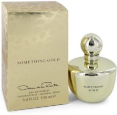 Oscar De La Renta Something Gold - Eau de parfum spray 100 ml