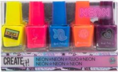 Create it! Nagellak neon: 5-delig