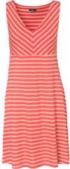 TOM TAILOR Jerseykleid rot/weiß Damen Gr. 40
