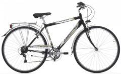 Cicli Cinzia 28 ZOLL CINZIA TREND Trekking Fahrrad 6-GANG Herren schwarz-creme