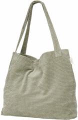 Groene Koeka corduroy mom bag Vik shadow green