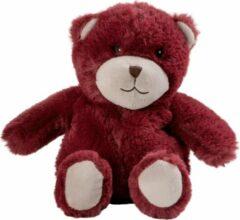 Warmies Magnetronknuffel beer rood