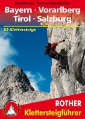 Klimgids - Klettersteiggids Klettersteige Bayern, Vorarlberg, Tirol, Salzburg | Rother