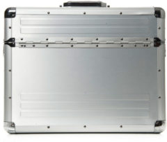 Zilveren Alumaxx Aluminium Pilotenkoffer Box 2482