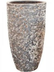 Baq Design Lava Relic Rust metal partner hoge bloempot 55x105 cm