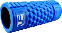 Urban Fitness Massageroller 33 Cm Rubber Blauw