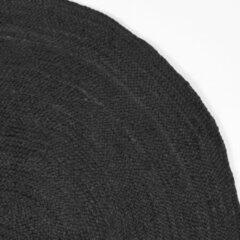 LABEL51 Vloerkleed 'Jute' 90cm, kleur Zwart