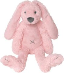 Roze Happy Horse - Knuffel konijn Tiny Rabbit Richie 28 cm pink - Maat Eén