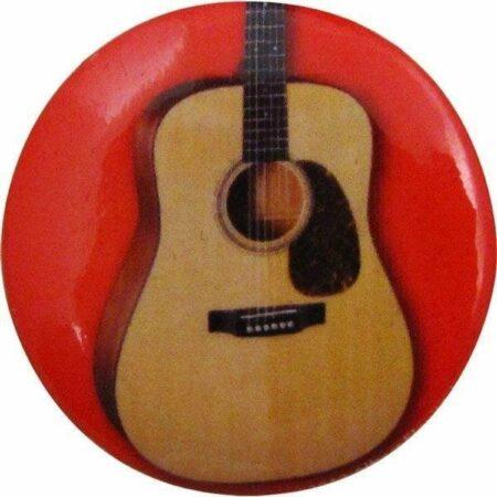 Afbeelding van AIM Button, Akoestische gitaar